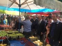 Başkan Köksoy, Belediye Meclis Üyeleriyle Birlikte Kapalı Halk Pazarını Gezdi