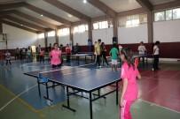 ÖZLEM ÇERÇIOĞLU - Büyükşehir Kültür Merkezleri'nde Masa Tenisi Turnuvası Heyecanı