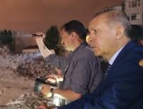 TAKSIM MEYDANı - Cumhurbaşkanı Erdoğan, AKM ve Taksim Camii inşaatlarını inceledi