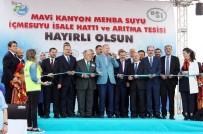 GEÇİŞ KÖPRÜSÜ - Cumhurbaşkanı Erdoğan Mavi Tünel İçme Suyu İsale Hattı Ve Arıtma Tesisini Açtı
