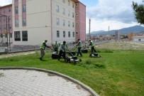 ÜST GEÇİT - Daha Yeşil Bir Niğde İçin Çalışmalar Sürüyor