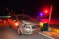 SERENLI - Kavşakta İki Otomobil Çarpıştı Açıklaması 5 Yaralı