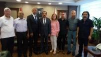 ALI EKBER - MGC Yönetiminden Müdür Şahne'ye Ziyaret