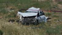 Otomobil Şarampole Uçtu Açıklaması 1 Ölü, 1 Yaralı