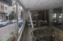 CIHANGIR - (Özel) İftar Saati Restoranın Zemini Çöktü Açıklaması 1 Kişi Yaralandı