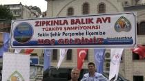 ÇALıKUŞU - Zıpkınla Balık Avı Kulüpler Arası Türkiye Şampiyonası