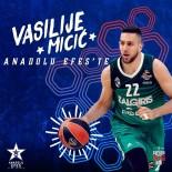 LITVANYA - Anadolu Efes Vasilije Micic'i kadrosuna kattı