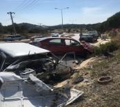 Araçlar Hurdaya Döndü Açıklaması 3 Yaralı