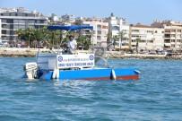 Aydın Büyükşehir Belediyesi Deniz Temizleme Aracı Yaptı