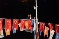 AHMET EŞREF FAKıBABA - Bakan Fakıbaba Vince Çıkıp Bayrak Astı
