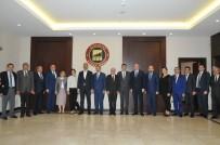 ABDÜLHAMİT GÜL - Başbakan Yardımcısı Şimşek Ve Adalet Bakanı Gül'den GSO'ya Ziyaret