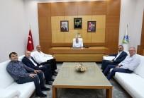 PANCAR EKİCİLERİ KOOPERATİFİ - Başkan Toçoğlu, APEK Başkanı Karasakal İle Bir Araya Geldi