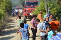 TEKELI - Bozyazı'da Orman Yangını Büyümeden Söndürüldü