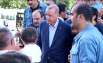ŞANLIURFA MİLLETVEKİLİ - Cumhurbaşkanı Erdoğan'dan Şehit Ve Milletvekilinin Ailesine Taziye Ziyareti