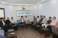 MUSTAFA DÜNDAR - Dündar'dan BİHMED'e Ziyaret