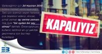 Edremit Belediyesi Sosyal Medyadan 'Kapalıyız' Mesajı Yayınladı