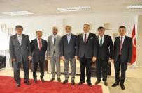 TANER YILDIZ - Enerji Ve Tabii Kaynaklar Eski Bakanı Taner Yıldız Kayseri Ticaret Borsası'nda