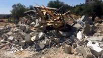 RAMALLAH - İsrail Buldozerleri Yıkmaya Devam Ediyor