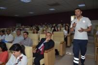 Kırıkkale'de Belediye Çalışanlarına İlk Yardım Eğitimi