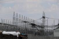 Merkez Trafodaki Yangın Diyarbakır'ı Elektriksiz Bıraktı