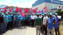 TÜRK METAL SENDIKASı - Metal İşçileri Greve Çıktı