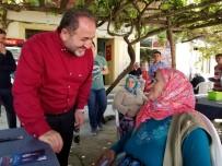 KARADENIZ SAHIL YOLU - Milletvekili Murat Demir, Doğanyurt Ve Cide'de Seçim Çalışmalarını Sürdürdü