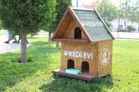 KıNıKLı - Pamukkale Belediyesi'nden Kedi Evi Projesi