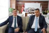 RAMAZAN ÖZCAN - Rektör Kızılay Ve Özcan'dan Kayısı İçin İşbirliği Vurgusu