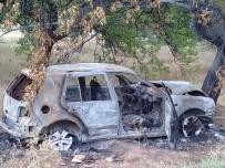 ALEYNA - Takla Atan Otomobil Cayır Cayır Yandı Açıklaması 2'Si Ağır 5 Yaralı