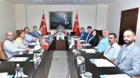 MEHMET ŞİMŞEK - TÜİOSB Müteşebbis Heyet Toplantısı Vali Su Başkanlığında Yapıldı