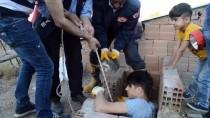 Ağrı'da Bacadan Kedi Kurtarma Operasyonu