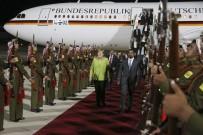 ÜRDÜN KRALI - Alman Şansölyesi Merkel Amman'da