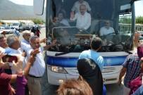 ARAÇ KONVOYU - Bakan Elvan Bozyazı'da Coşkuyla Karşılandı