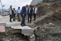 SÜLEYMAN ÖZDEMIR - Başkan Ergün'den Minik Rüzgar'ın Ailesine Taziye Ziyareti