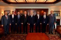 TÜRKLER - Başkan Tuna'ya Büyükelçilerden Ziyaret