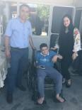 HACıRAHMANLı - Başkan Yaralı'dan Engelli Çocuğa Tekerlekli Sandalye