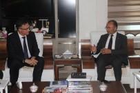 Belarus Cumhuriyeti Ankara Büyükelçisi Savınykh'dan, Başkan Köksoy'a Ziyaret