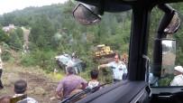 Bursa'da Otobüs Devrildi Açıklaması 2 Ölü, 25 Yaralı