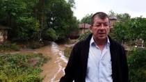YILDIRIM DÜŞMESİ - Çanakkale'de Sağanak