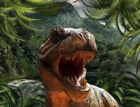 DINOZOR - Dinozorlar sanıldığı gibi dillerini dışarı çıkarmıyormuş