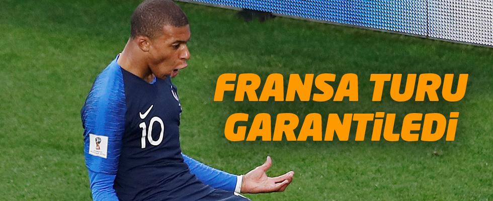 Fransa, gruptan çıkmayı garantiledi