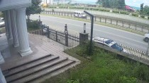 KARADENIZ SAHIL YOLU - GÜNCELLEME - Rize'de Trafik Kazası Açıklaması 1 Ölü, 1 Yaralı