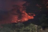 İTFAİYE ARACI - Güney Kıbrıs'ta Çıkan Yangın KKTC'yi Alarma Geçirdi