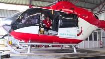 Hava Ambulansı Ve Askeri Helikopter Hastalar İçin Havalandı