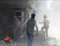 SİVİL SAVUNMA - İdlib'de bombalı saldırı: 5 ölü, 35 yaralı
