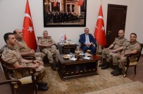 JANDARMA GENEL KOMUTANI - Jandarma Genel Komutanı Çetin, Vali Yavuz'u Ziyaret Etti