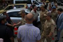 Jandarma Genel Komutanı Orgeneral Arif Çetin Eren Bülbül'ün Memleketi Maçka'da Vatandaşlarla Bir Araya Geldi