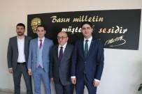 İSMAIL ÖZDEMIR - Kayseri Gazeteciler Cemiyeti'ne Ziyaretler Sürüyor