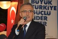 NACİ AĞBAL - Maliye Bakanı Ağbal, Esnaf Ve İş Adamları İle Buluştu