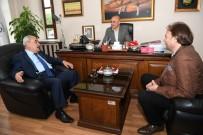 ALİ KORKUT - MHP Adayları, Ali Korkut'u Ziyaret Etti